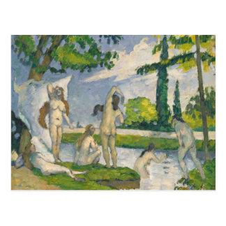 Bathers Postcard