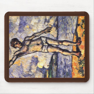 Bathers With Outstretched Arms By Paul Cézanne Mousepad