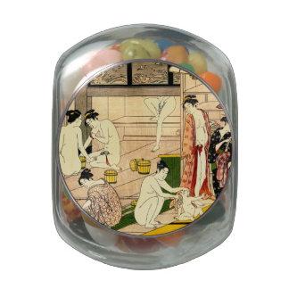Bathhouse 1780 glass jars
