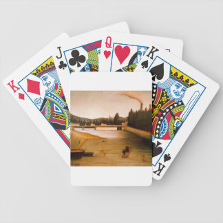 Bathing at Alfortville by Henri Rousseau Bicycle Playing Cards