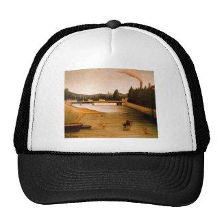Bathing at Alfortville by Henri Rousseau Trucker Hat