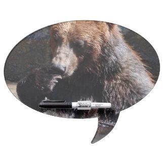 Bathing Bear Dry-Erase Board