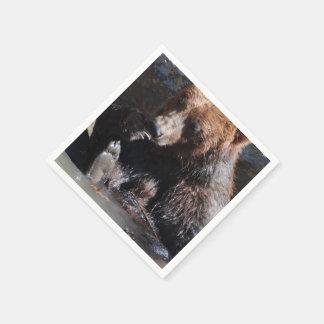 Bathing Bear Paper Napkin