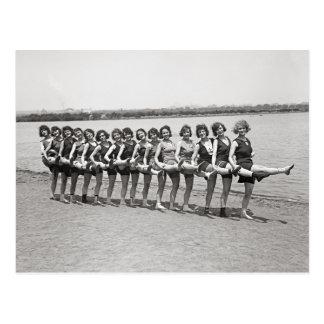 Bathing Beauties, 1923 Postcard