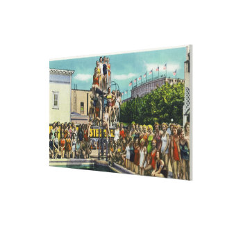 Bathing Beauties at Steeplechase Park Canvas Print
