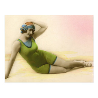 Bathing Beauties of the Past Post Cards