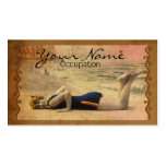 Bathing Beauty Business Card Template