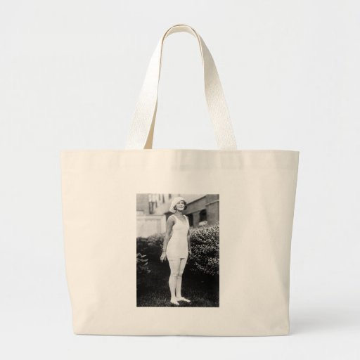 Bathing Beauty, early 1900s Canvas Bag