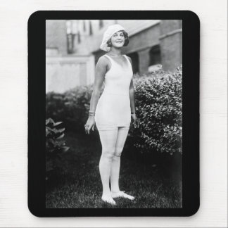 Bathing Beauty, early 1900s Mouse Pad