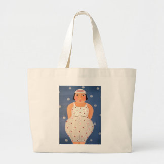 Bathing Beauty Large Tote Bag