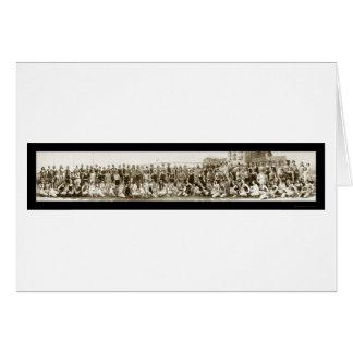 Bathing Beauty Parade Photo 1927 Greeting Cards
