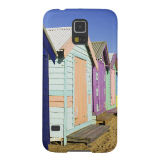Bathing Boxes, Middle Brighton Beach, Port Galaxy S5 Cover