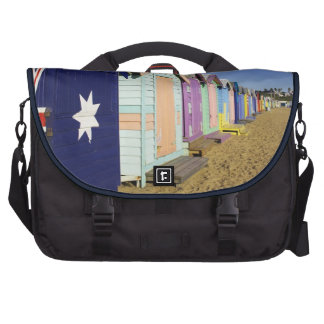 Bathing Boxes, Middle Brighton Beach, Port Commuter Bag