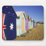Bathing Boxes, Middle Brighton Beach, Port Mouse Pad