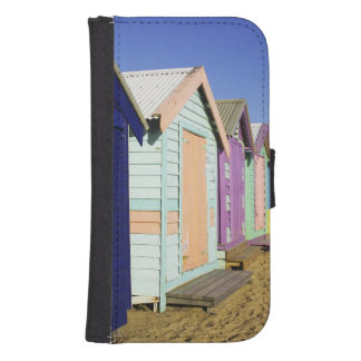 Bathing Boxes, Middle Brighton Beach, Port Phone Wallet