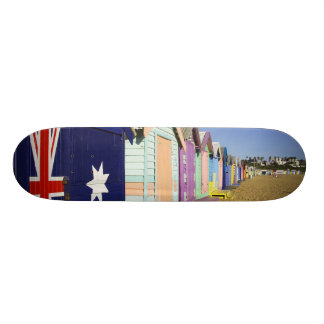 Bathing Boxes, Middle Brighton Beach, Port Skateboard Deck