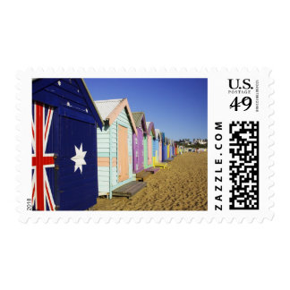 Bathing Boxes, Middle Brighton Beach, Port Stamp