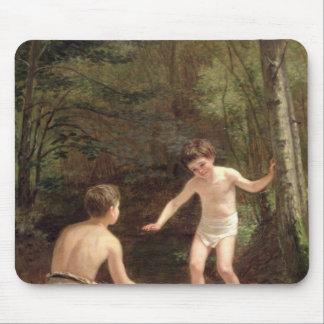 Bathing Boys, 1873 Mouse Pad