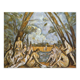 Bathing By Paul Cézanne (Best Quality) Personalized Announcement