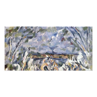 Bathing By Paul Cézanne (Best Quality) Photo Greeting Card