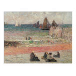 Bathing Dieppe by Gauguin, Vintage Impressionism Postcards