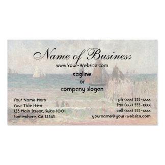 Bathing Dieppe by Paul Gauguin Business Card Template
