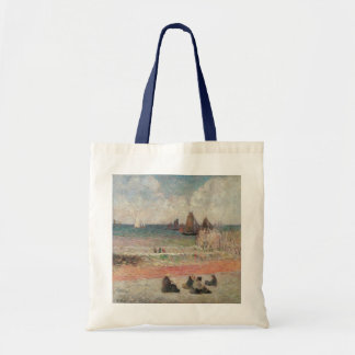 Bathing Dieppe by Paul Gauguin, Vintage Fine Art Tote Bag