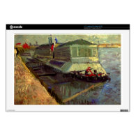 Bathing Float on the Seine at Asniere by Van Gogh. Decal For 17