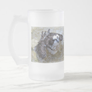 Bathing Osprey Mug
