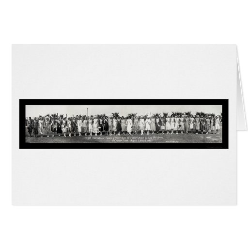 Bathing Pageant Photo 1930 Greeting Card