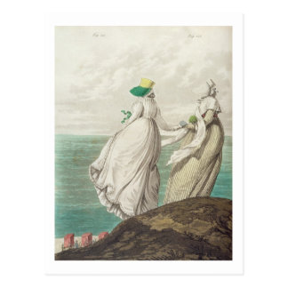 Bathing Place, from 'Gallery of Fashion', 1797 (co Postcard