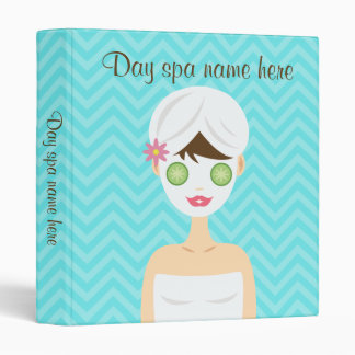 Bathing Spa Woman With A White Face Mask Binder