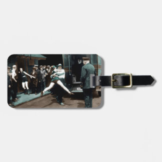 Bathing Suit Arrests USA Luggage Tag