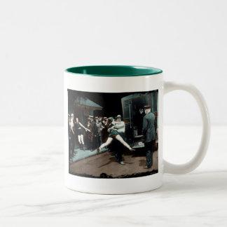 Bathing Suit Arrests USA Two-Tone Coffee Mug