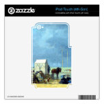 Bathing Time at Deauville by Eugene Boudin Decals For iPod Touch 4G