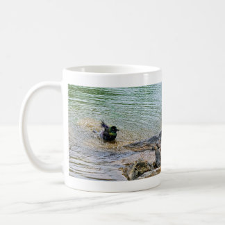 Bathing Time for the Starling Coffee Mug