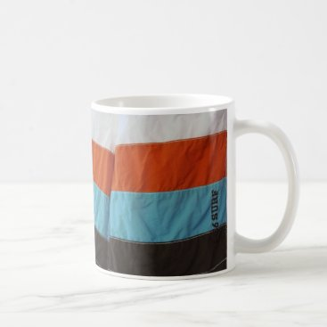 Beach Themed Bathing Trunks Coffee Mug