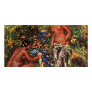 Bathing Women By Pierre-Auguste Renoir Photo Greeting Card