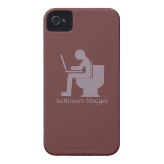 Bathroom Blogger Blurple Case-Mate iPhone 4 Case