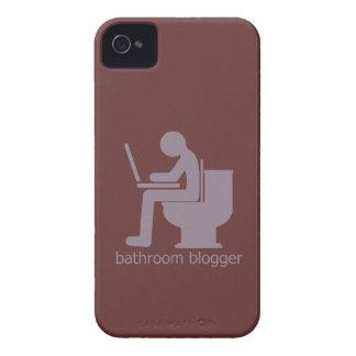 Bathroom Blogger Blurple iPhone 4 Case-Mate Case