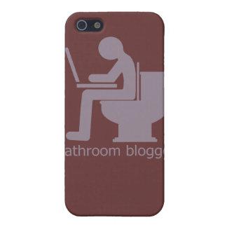 Bathroom Blogger Blurple iPhone SE/5/5s Cover
