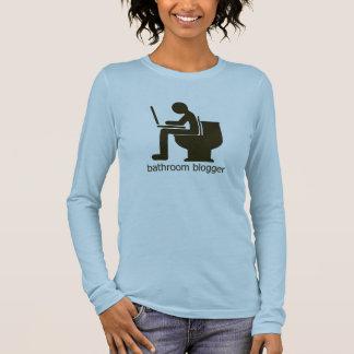 Bathroom Blogger Funny T-Shirt