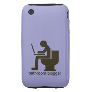 Bathroom Blogger Greige Tough iPhone 3 Cover