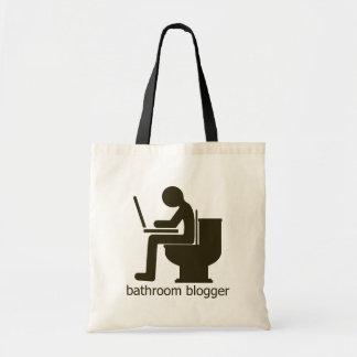 Bathroom Blogger Griege Tote Bag