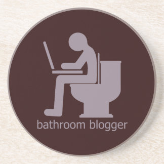 Bathroom Blogger Gurple Drink Coaster