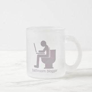 Bathroom Blogger Gurple Frosted Glass Coffee Mug