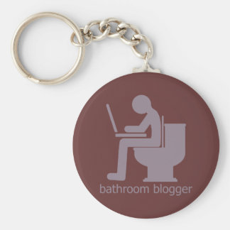 Bathroom Blogger Gurple Keychain