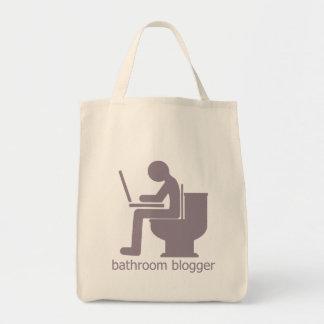 Bathroom Blogger Gurple Tote Bag