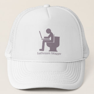 Bathroom Blogger Gurple Trucker Hat