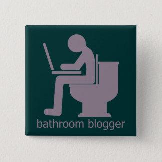 Bathroom Blogger Lilac Button